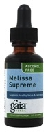 Gaia Herbs - Melissa Supreme Alcohol Free - 1 oz., from category: Herbs
