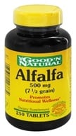 Image of Good 'N Natural - Alfalfa 500 mg. - 250 Tablets