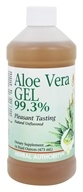 Herbal Authority - Aloe Vera Gel 99.3% - 16 oz. Formerly called Good 'N Natural (074312916007)