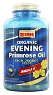 Health From The Sun - Evening Primrose Oil From Organic Seeds 500 mg. - 180 Softgels, from category: Nutritional Supplements
