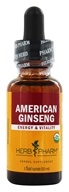 Herb Pharm - American Ginseng Extract - 1 oz. Formerly Fresh Wild Root (090700000622)
