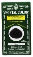 Herbatint - Vegetal Color Black - 2 oz. (666248001416)