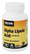 Image of Jarrow Formulas - Alpha Lipoic Acid With Biotin 100 mg. - 90 Capsules