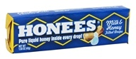 Honees - Milk & Honey Filled Drops - 9 Lozenges by Honees
