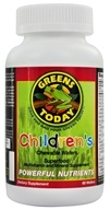 Greens Today - Children's Formula - 60 Wafers, from category: Nutritional Supplements