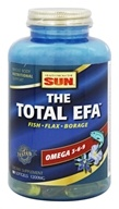 Health From The Sun - Omega 3-6-9 Total EFA - 90 Softgels (010043050924)