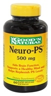 Good 'N Natural - Neuro-PS 500 mg. - 60 Softgels, from category: Nutritional Supplements