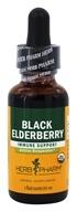 Herb Pharm - Black Elderberry Extract - 1 oz.