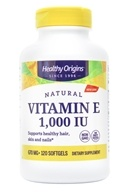 Healthy Origins - Vitamin E 1000 IU - 120 Softgels