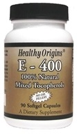 Healthy Origins - Vitamin E 400 IU - 90 Softgels, from category: Vitamins & Minerals