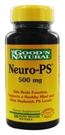 Good 'N Natural - Neuro-PS 500 mg. - 30 Softgels by Good 'N Natural