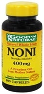 Good 'N Natural - Noni 400 mg. - 100 Capsules