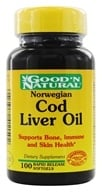Good 'N Natural - Norwegian Cod Liver Oil - 100 Softgels (074312411502)