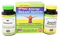 Herbs Etc - Allergy ReLeaf System - 60 Allertonic Softgels & 60 AllerReLeaf Tablets