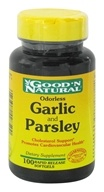 Good 'N Natural - Odorless Garlic And Parsley - 100 Softgels, from category: Herbs