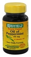 Good 'N Natural - Oil of Peppermint 50 mg. - 90 Softgels (074312450808)