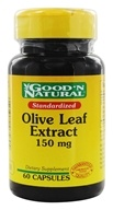 Good 'N Natural - Olive Leaf Extract 150 mg. - 60 Capsules, from category: Herbs
