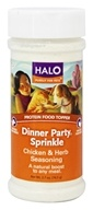 Halo Purely for Pets - Dinner Party Sprinkle Chicken & Herbs Seasoning - 2.7 oz.
