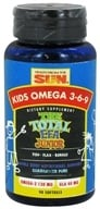 Health From The Sun - Kids Omega 3-6-9 The Total EFA Junior - 90 Softgels (010043050900)