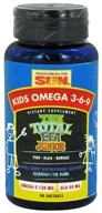 Health From The Sun - Kids Omega 3-6-9 The Total EFA Junior - 90 Softgels, from category: Nutritional Supplements