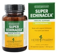 Herb Pharm - Super Echinacea 350 mg. - 60 Vegetarian Capsules, from category: Herbs