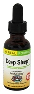 Image of Herbs Etc - Deep Sleep Professional Strength - 1 oz. Contains California Poppy