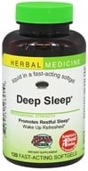 Image of Herbs Etc - Deep Sleep Alcohol Free - 120 Softgels Contains California Poppy