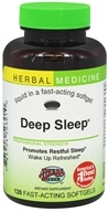 Deep Sleep Alcohol Free - 120 Softgels Contains California Poppy