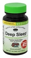 Image of Herbs Etc - Deep Sleep Alcohol Free - 30 Softgels Contains California Poppy