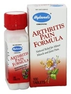 Hylands - Arthritis Pain Formula - 100 Tablets, from category: Homeopathy