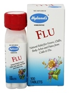 Hylands - Flu - 100 Tablets, from category: Homeopathy