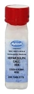 Hylands - Hepar Sulphuris Calcareum 30 X - 250 Tablets - $6.53