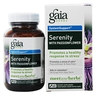 Gaia Herbs - Serenity with Passionflower Liquid Phyto Capsules - 60 Vegetarian Capsules, from category: Nutritional Supplements