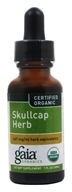Gaia Herbs - Skullcap Herb Certified Organic - 1 oz., from category: Herbs