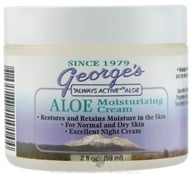 George's Aloe - Aloe Moisturizing Cream - 2 oz. (789287110144)