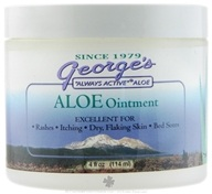 George's Aloe - Aloe Ointment - 4 oz. by George's Aloe