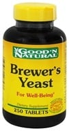 Good 'N Natural - Brewer's Yeast - 250 Tablets Formerly 7 1/2 Grain (074312407437)