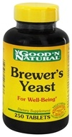 Good 'N Natural - Brewer's Yeast - 250 Tablets Formerly 7 1/2 Grain, from category: Nutritional Supplements