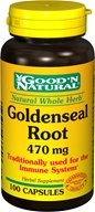 Image of Good 'N Natural - Goldenseal Root 470 mg. - 100 Capsules