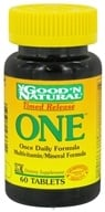 Good 'N Natural - One Long Acting Multiple Vitamin and Mineral Supplement Time Release - 60 Tablets