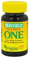 Good 'N Natural - One Long Acting Multiple Vitamin and Mineral Supplement Time Release - 60 Tablets (074312436611)
