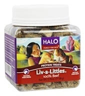 Halo Purely for Pets - Liv-A-Littles 100% Beef Protein Treats - 2.75 oz. CLEARANCED PRICED