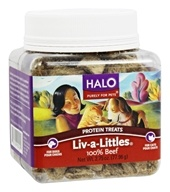 Halo Purely for Pets - Liv-A-Littles 100% Beef Protein Treats - 2.75 oz. CLEARANCED PRICED - $7.93