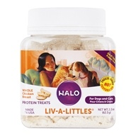 Halo Purely for Pets - Liv-A-Littles 100% Chicken Protein Treats - 2.2 oz.