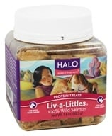 Halo Purely for Pets - Liv-A-Littles 100% Wild Salmon Protein Treats - 1.6 oz.