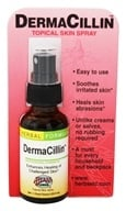 Image of Herbs Etc - DermaCillin Topical Skin Spray Professional Strength - 1 oz.