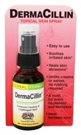 Herbs Etc - DermaCillin Topical Skin Spray Professional Strength - 1 oz. by Herbs Etc