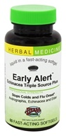 Herbs Etc - Early Alert Echinacea Triple Source Plus Alcohol Free - 60 Softgels, from category: Herbs