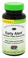 Image of Herbs Etc - Early Alert Echinacea Triple Source Plus Alcohol Free - 60 Softgels
