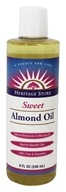 Heritage - Sweet Almond Oil - 8 oz.